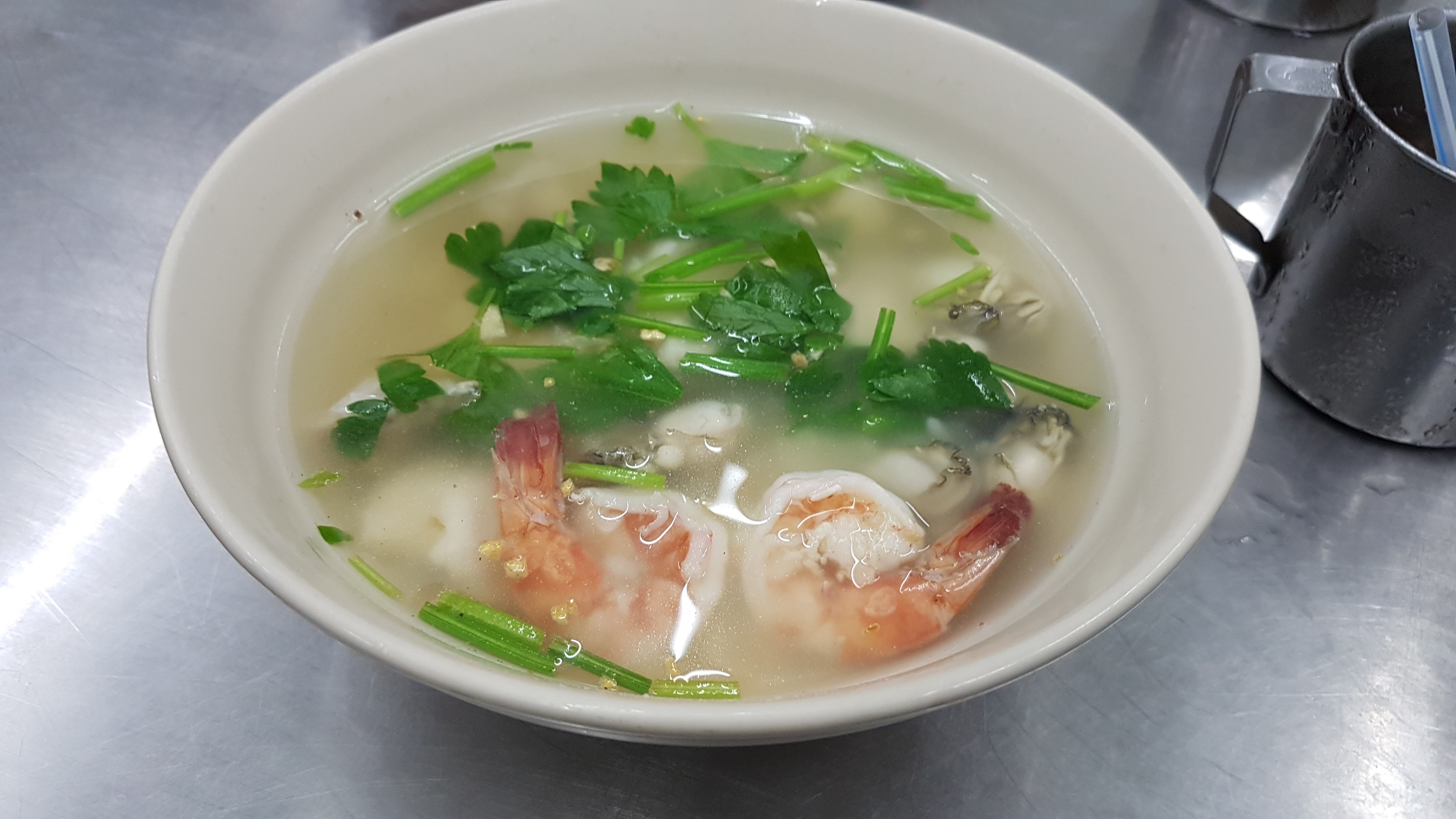 Shrimp Fish Soup